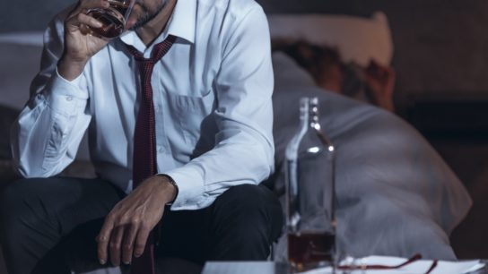 Alcohol before bed can lead to tolerance and insomnia.