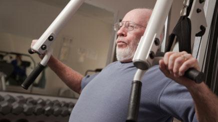 Balance, strength training reduces falls among elderly