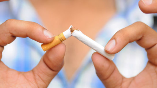 Quitting reduces smokers' risk for sudden cardiac death