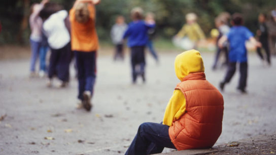 Children with autistic disorder fail to develop peer relationships.