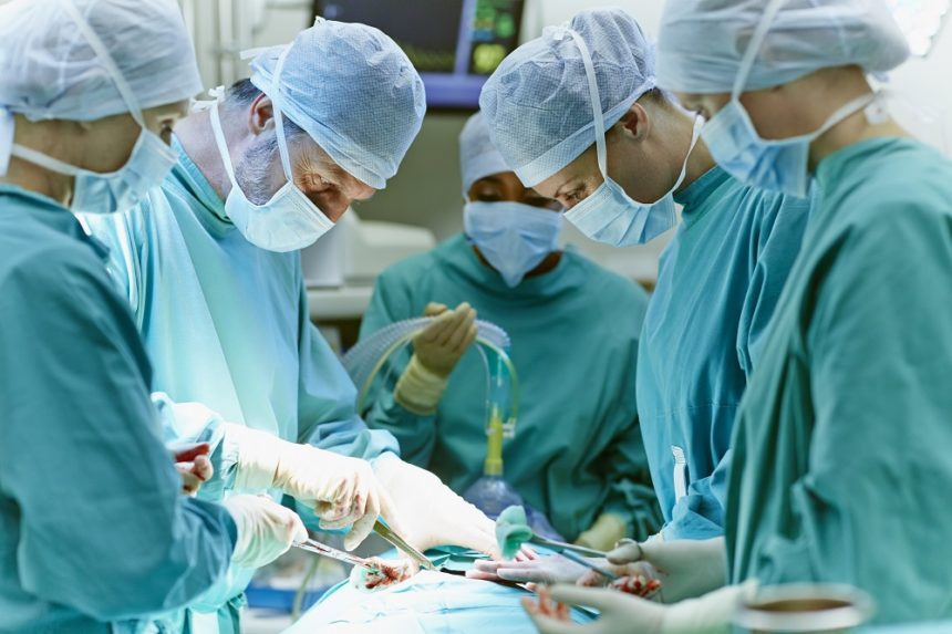Gastric bypass surgery.