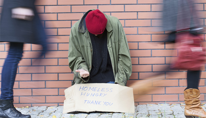 Providing health services to the homeless