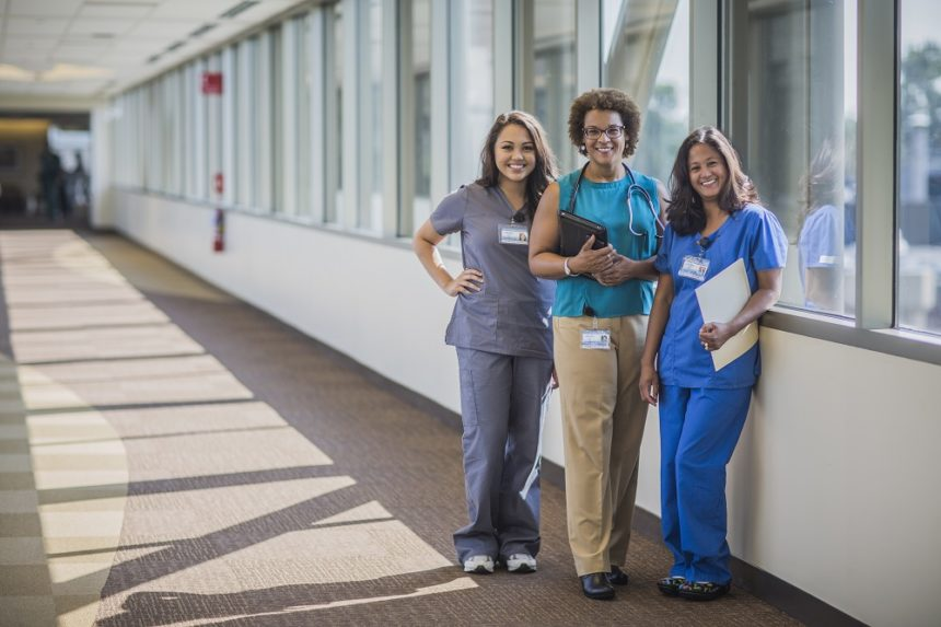 Group of nurse practitioners.