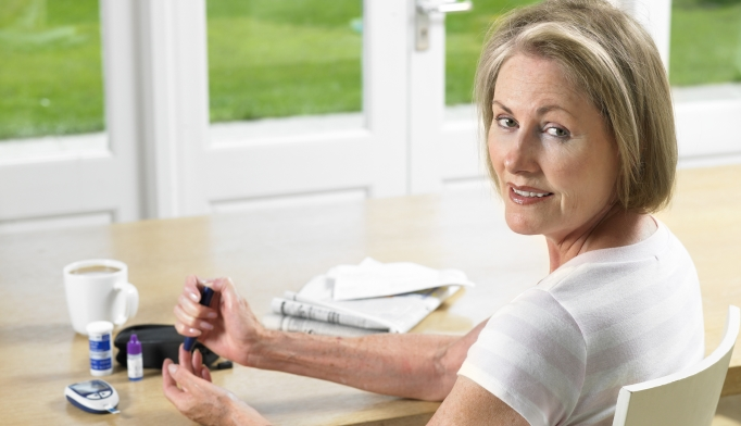 More than 60% of older adults with diabetes have poor diabetes control.