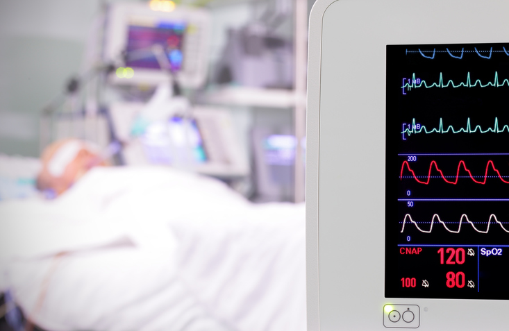 ICU vital sign monitor