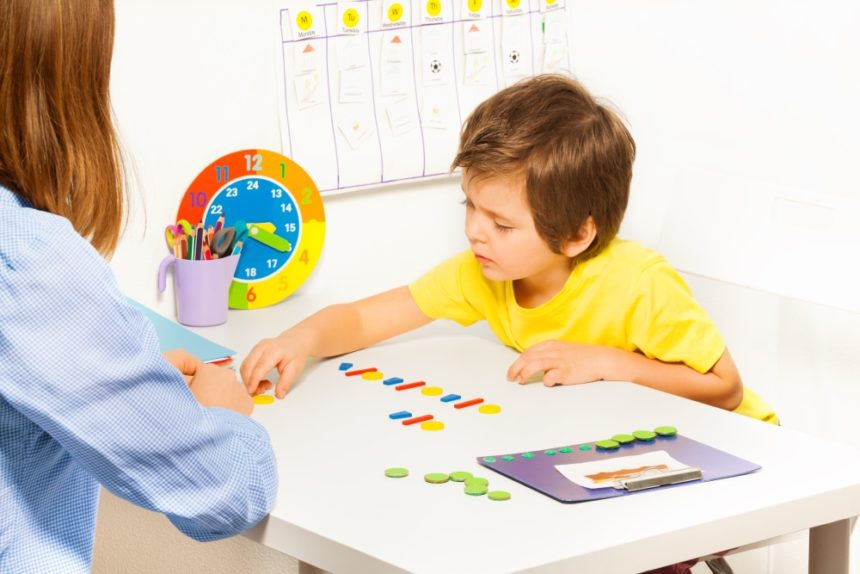 autism child school therapy