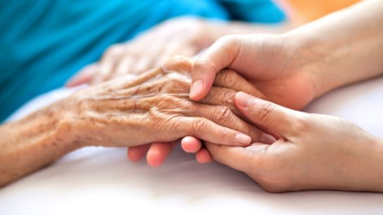 elderly patient hands
