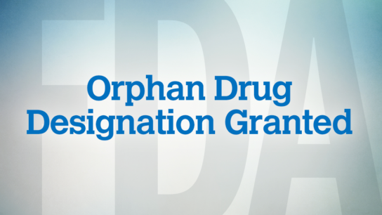 FDA orphan drug granted.